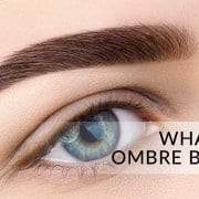 what are permanent makeup ombre brows