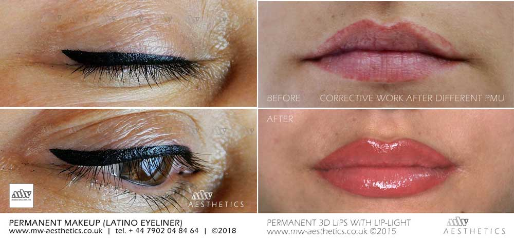 semi permanent makeup lonbdon