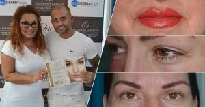 permanent makeup training aleksandra gorecka