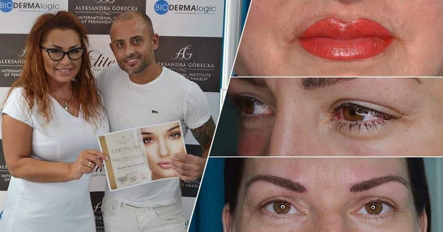 permanent makeup training aleksandra gorecka