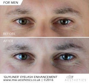 eyeliner tattoo for men