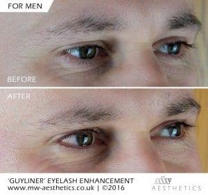 eyeliner tattoo for men