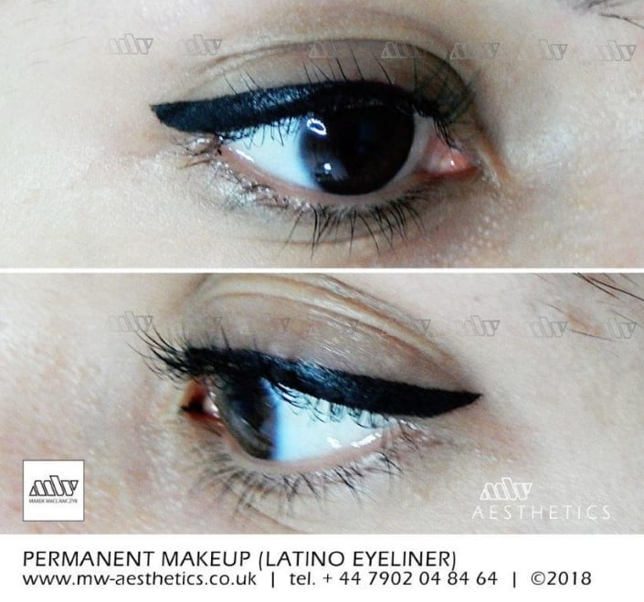semi permanent eyeliner tattoo