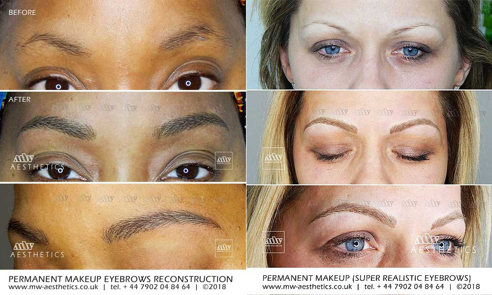 3d Tattoo Eyebrows Realistic Permanent Eyebrows The Process Mw