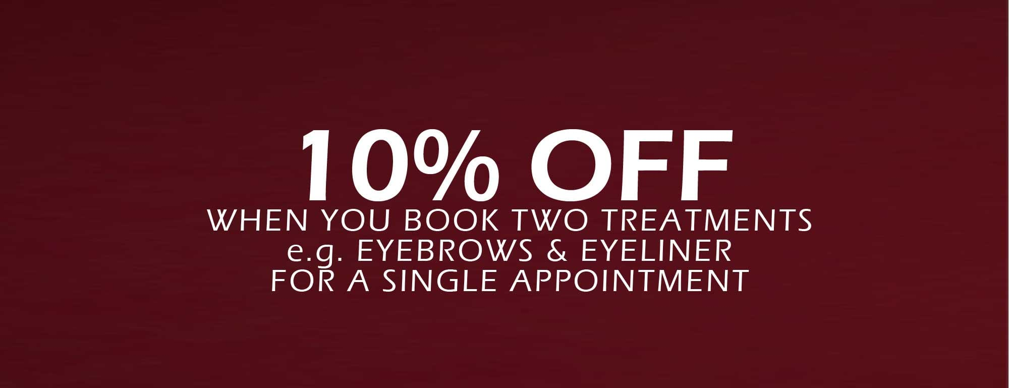 permanent makeup discount